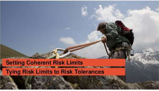 Limits of risk